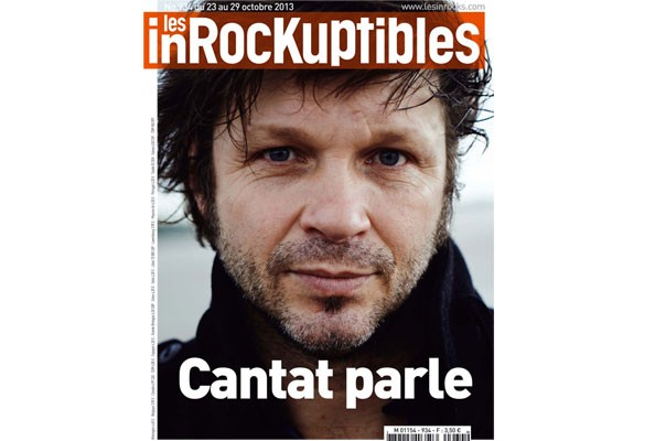 Itw Inrocks Bertrand Cantat Oct 2013 par JD Beauvallet