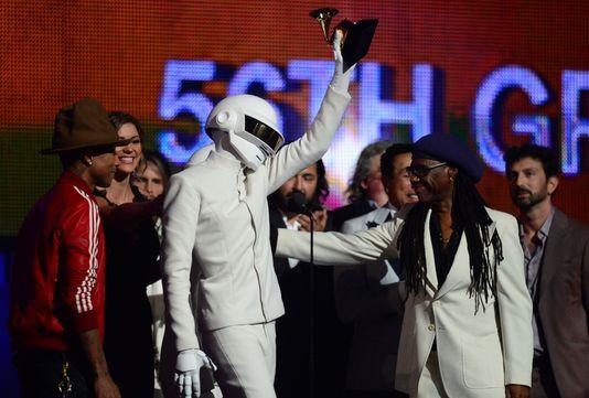 Daft Punk, grand vainqueur des Grammy Awards :)!!!!