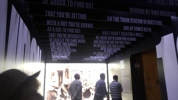 Les Stones s'exhibent à Londres#exhibitionism